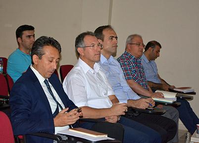ASKOM 2017 Yılı Temmuz Ayı Toplantısı PAÜ'de Yapıldı