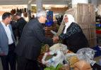 Başkan Şevkan Pazar Esnafını Ziyaret Etti