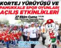 Pamukkale Spor Oyunları Etkinliği Başlıyor