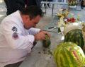 Tavas'ta Meyve Sebze Süsleme Sanatı Sergisi