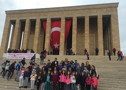 Pev Öğrencileri Ankara Gezisinde