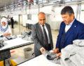 Vali Karahan, Deniz Tekstil'i Ziyaret Etti
