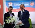 AK Parti'li Milletvekili Şahin Tin, Eğitim Bir-Sen'i Ziyaret Etti