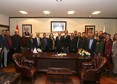 AK Parti Sarayköy Teşkilatı'ndan Başkan Zolan'a Ziyaret