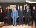 TSS'den Rektör Bağ'a Ziyaret