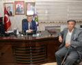 Şehit Babasından Başkan Şevkan'a Ziyaret