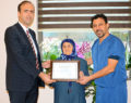 PAÜ'ye Venöz Doppler Ultrasonografi Cihaz Bağışı