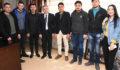 AK Parti Gençlik Kolları'ndan Başkan Şevkan'a Ziyaret