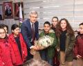 Miniklerden Başkan Şevkan'a Ziyaret