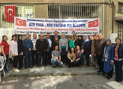 Kızılcabölüklüler Vakfı'ndan Afrin'e Destek