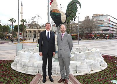 Arjantin Başkonsolosu'ndan Büyükşehir'e ziyaret