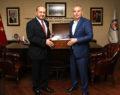 Akdoğan'dan Başkan Zolan'a ziyaret