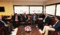 TÜRMOB Başkanı Yontan'dan Başkan Osman Zolan'a ziyaret