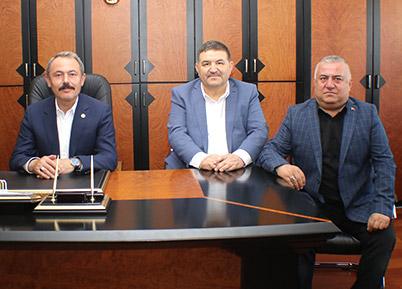 Milletvekili Şahin Tin, DESOB Başkanı Devecioğlu'nu ziyaretinde konuştu
