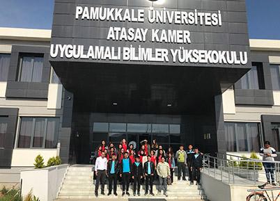 Çivril'deki Lise Öğrencilerine Pamukkale Üniversitesi Tanıtıldı