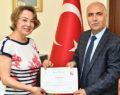 Vali Karahan'dan Başarı Belgesi