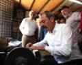 AK Parti Denizli Milletvekili Şahin Tin, 1. Sanayi esnafını ziyaret etti