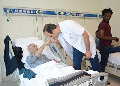 PAÜ Hastanesinde Bayramlaşma