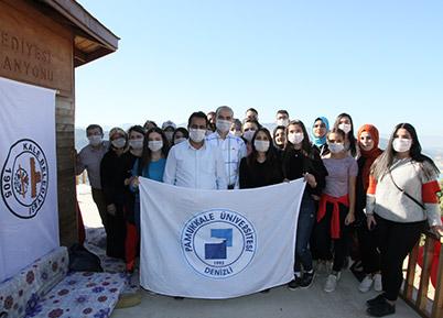 Kale MYO Öğrencileri Sınavlar Öncesi Moral Depoladı