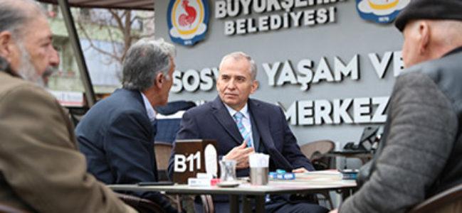 Başkan Osman Zolan, Sosyal Yaşam ve Kültür Merkezi'ni ziyaret etti