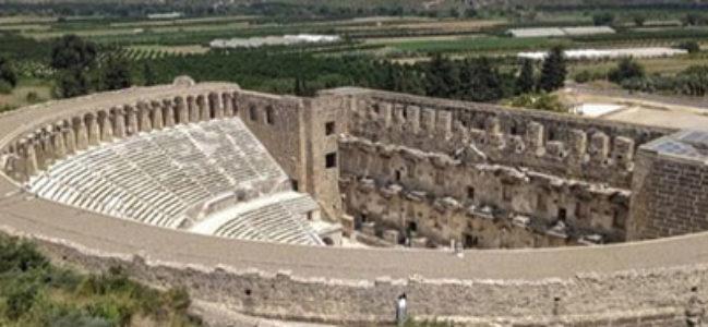 DÜNYANIN EN İYİ KORUNAN ROMA DÖNEMİ TİYATROSU ASPENDOS