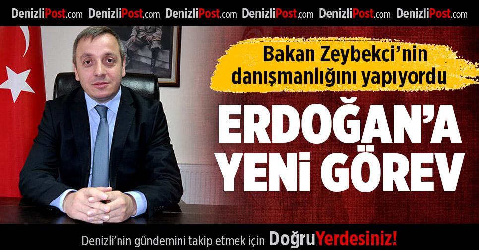 Erdoğan Aile ve Sosyal Politikalar İl Müdürü Oldu