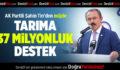 AK Partili Şahin Tin, müjdeyi verdi