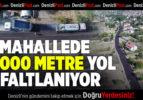14 Mahallede 15 Bin Metre Yol Asfaltlanıyor