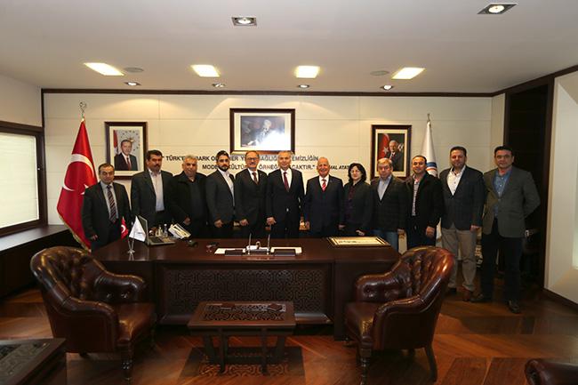 tavas belediye baskani osman zolan denizli 1 - Tavas'tan Başkan Osman Zolan'a teşekkür ziyareti