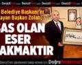 Tavas'tan Başkan Osman Zolan'a teşekkür ziyareti