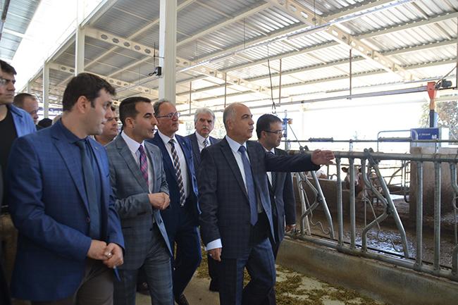 tavas yalcinkaya sut ciftligi 2 - Tavas'ta 6.5 Milyon TL'lik Modern Süt Üretim Tesisi Açıldı