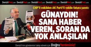CHP'li Vekilden AK Parti'li Vekile Fatura Yanıtı