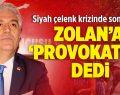 """CHP'li Sancar Zolan'a """"Provokatör"""" Dedi"""