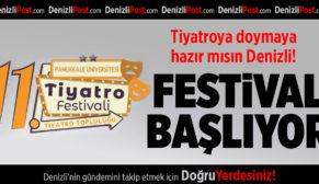 PAÜ'de 11. Üniversitelerarası Tiyatro Festivali Başlıyor