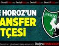 İşte Horoz'un Transfer Bütçesi