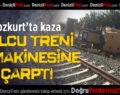 Bozkurt'ta Tren İle İş Makinesi Çarpıştı: 1 Yaralı
