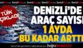 TÜİK Denizli'de Trafiğe Kayıtlı Araç Sayısını Açıkladı