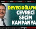 Turgut Devecioğlu'ndan çevreci seçim kampanyası