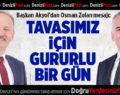 Başkan Akyol'dan Osman Zolan mesajı