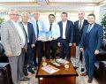 TÜRSAB'dan DTO Başkanı Erdoğan'a ziyaret