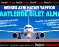 Uçak bileti almadan önce dikkat! Herkes aynı hatayı yapıyor…