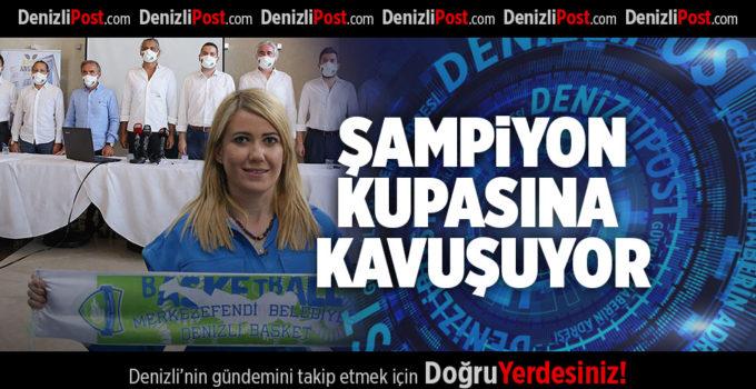 ŞAMPİYON KUPASINA KAVUŞUYOR