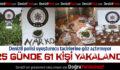 Denizli Polisi Uyuşturucu Tacirlerine Göz Açtırmıyor