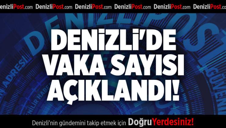 DENİZLİ'DE VAKA SAYISI AÇIKLANDI