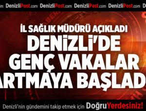İL SAĞLIK MÜDÜRÜ AÇIKLADI DENİZLİ'DE GENÇ VAKALAR ARTMAYA BAŞLADI!