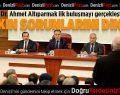 Vali Dr. Ahmet Altıparmak ilk buluşmayı gerçekleştirdi