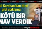 Vali Karahan'dan İtiraf Gibi Açıklama: Kötü Bir Sınav Verdik