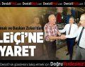 Vali Altıparmak ve Başkan Zolan'dan Kaleiçi'ne Ziyaret