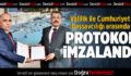 Valilik İle Cumhuriyet Başsavcılığı Arasında Protokol İmzalandı