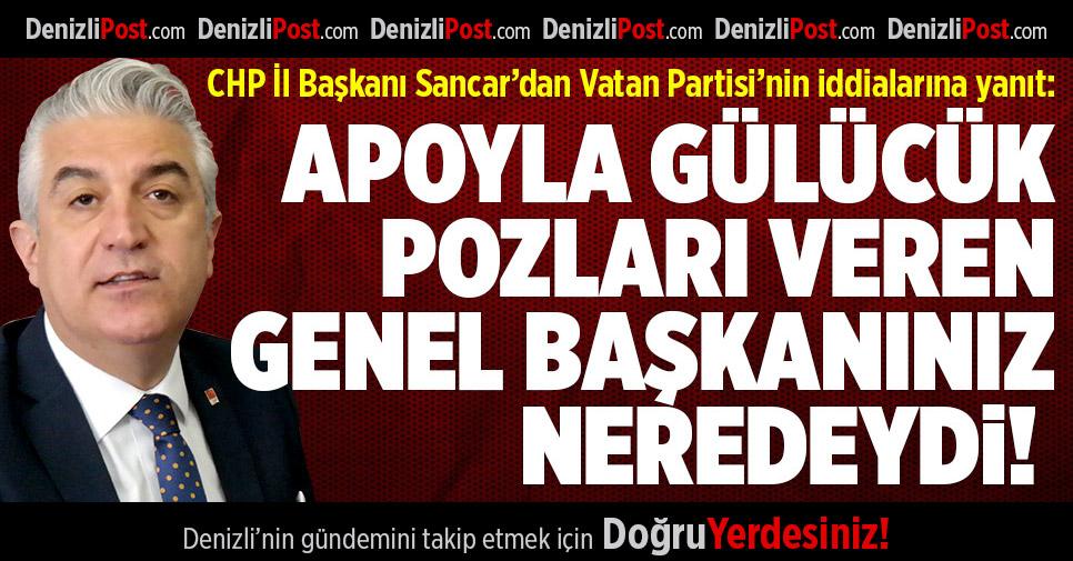 CHP'den Vatan Partisi'nin iddialarına yanıt